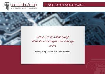 Wertstromanalyse und -design - Leonardo Group