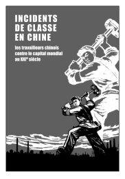 Incidents de classe en Chine (pour brochure ... - Infokiosques.net