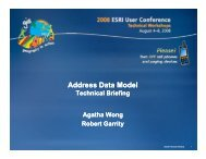 Address Data Model - Technical Briefing
