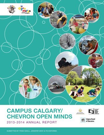 Annual Report (.pdf) - Campus Calgary/Open Minds - Calgary Board ...