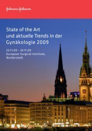 State of the Art und aktuelle Trends in der Gynäkologie 2009
