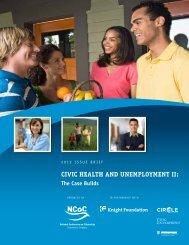 CIVIC HEALTH AND UNEMPLOYMENT II: - Civic Enterprises