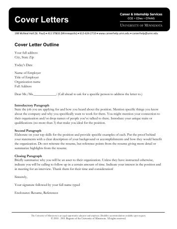 """good career cover letters """"respectfully"""" is a good way to close your cover letters and the cover letter packet in the career discovery center at career services."""