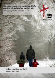 Ausgabe Januar - März 2013 - FMG Lausen
