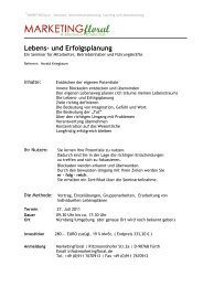 Lebens- und Erfolgsplanung - HaraldKriegbaum.de