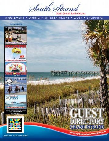 South Strand - Myrtle Beach Visitors Guide
