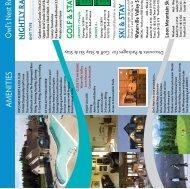 O wl's Nest Resort & Golf Club AM EN ITIES
