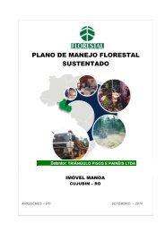Plano de Manejo Florestal Sustentável - Triângulo. - Tecpar