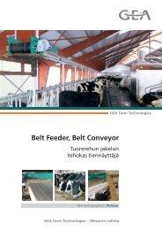 Belt Feeder, Belt Conveyor - Mullerup