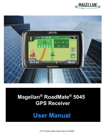 User Manual - Support - Magellan