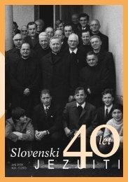 Slovenski jezuiti avgust 2009 - Jezuiti v Sloveniji
