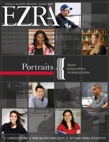 PDF Version - Ezra magazine - Cornell University