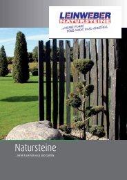 Leinweber Baucentrum Fulda Natursteine Broschüre 2012