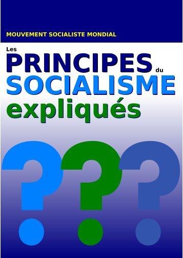Les principes du socialisme expliqués - La Bataille socialiste