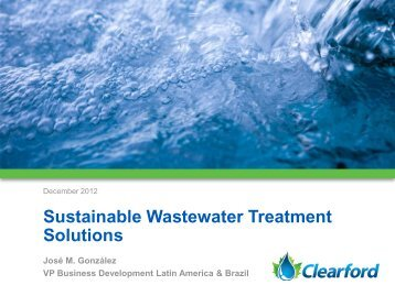 Sustainable Wastewater Treatment Solutions