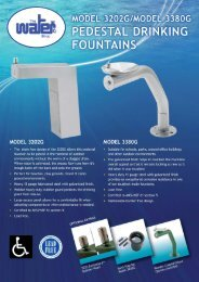 Pedestal fountains - The Water Shop
