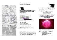 Flyer (PDF, 316,6 KB) - TU Berlin