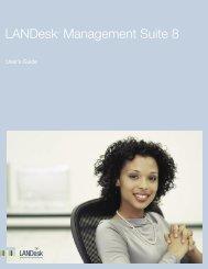 LANDesk Management Suite 8.1 - LANDesk® Software Downloads ...