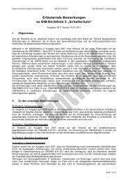 """Erläuternde Bemerkungen zu OIB-Richtlinie 5 """"Schallschutz"""""""