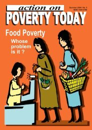 Action on Poverty Today (Summer 2004) - Combat Poverty Agency