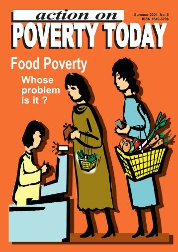 issue of poverty in todays society