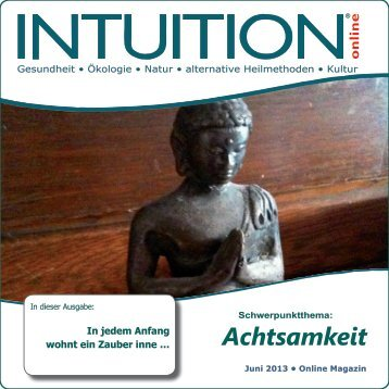 Achtsamkeit - INTUITION online