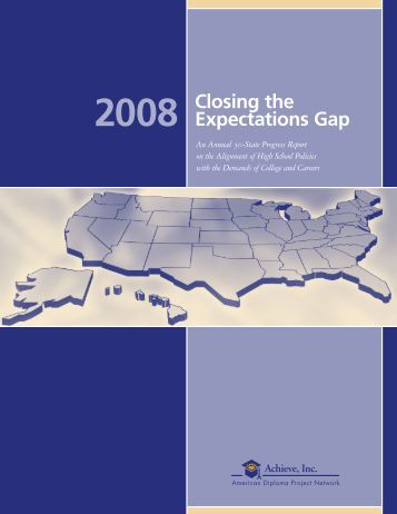 Closing the Expectations Gap - Achieve