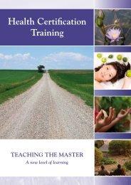 Health Certification Training - Landsiedel NLP Training