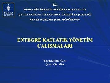entegre katı atık yönetim çalışmaları - Türkiye Sağlıklı Kentler Birliği