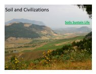 Soil and Civilizations