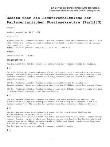 ParlStG - Brandner, Klaus (MdB)