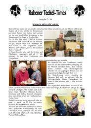 Ausgabe 2 / 06 - Teckelgruppe Raben