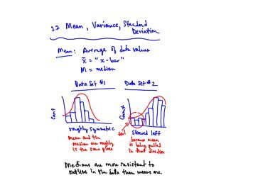 8/30: Mean and Standard Deviation (2.2)