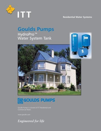 Goulds Pumps - Granite Peak Pump Service