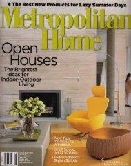 metropolitan home, 'Ranch Life Rocks,' (July/ august)