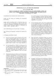 VERORDNUNG (EG) Nr. 1857/2006 DER KOMMISSION ... - EUR-Lex