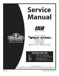 w415-0118 napoleon service manual - Hearth Products Distributing
