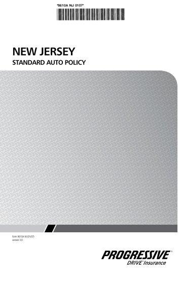NEW JERSEY - NJ Car Insurance