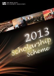 2013-27-8 Scholarship Scheme(6p)for pdf.p65 - Hong Kong ...