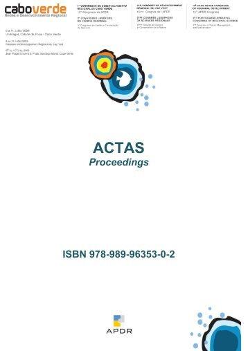 Proceedings ISBN 978-989-96353-0-2 - Departamento de Ciências ...