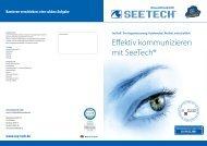 Effektiv kommunizieren mit SeeTech® - Humanelektronik