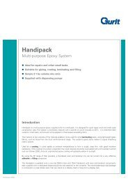 Handipack - Multi-purpose Epoxy System (v10) - Gurit