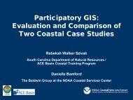 Participatory GIS - Coastal GeoTools - NOAA