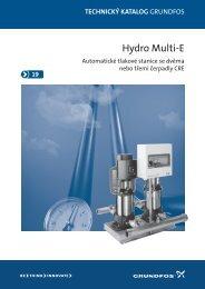 GRUNDFOS - Hydro Multi-E - Marcomplet