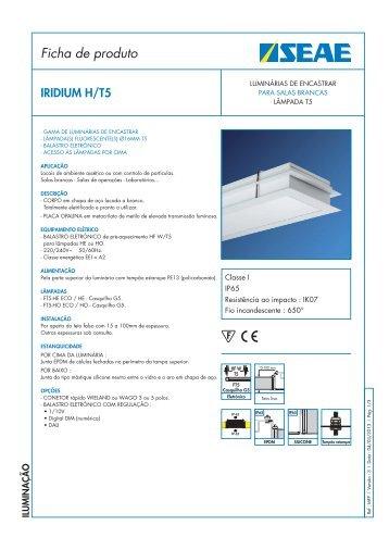 Ficha de produto - Seae
