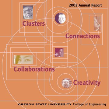 Creativity Collaborations Clusters Connections - College of ...