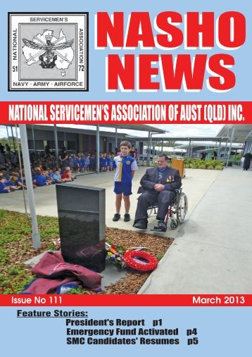 Issue 111 - Nasho Front Page