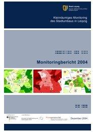 Monitoringbericht 2004 - Wohnungsmarkt - Stadtumbau - Stadt Leipzig