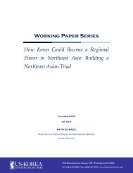 How Korea Could Become a Regional Power in Northeast Asia
