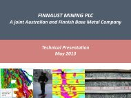 FinnAust Mining PLC – Disclaimer - Geological Survey of Finland